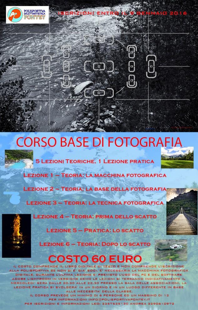 Calendario Corso di Fotografia