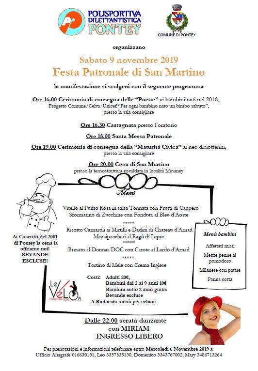 Cena Festa Patronale
